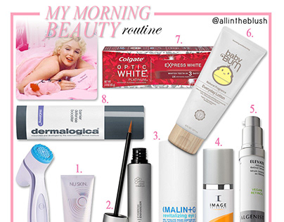 Morning Beauty Routine Product Roundup