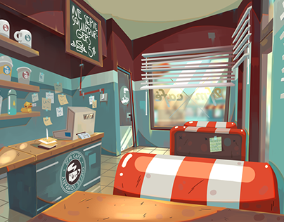 Amoeville backgrounds
