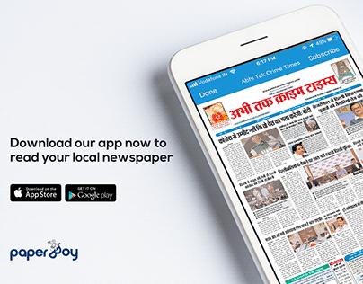 PaperBoy - Social Media