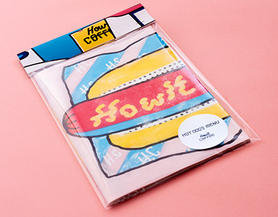 Hotdog Menu / Howlt Coffee