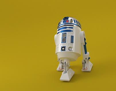 Modelagem 3D R2D2
