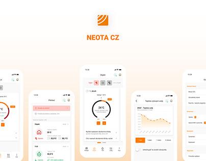Neota - mobile application
