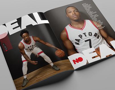 Sportsnet magazine Toronto Raptors Preview 2016–17