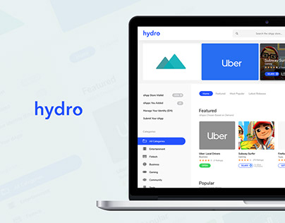 Cryptocurrency Decentralized App Store