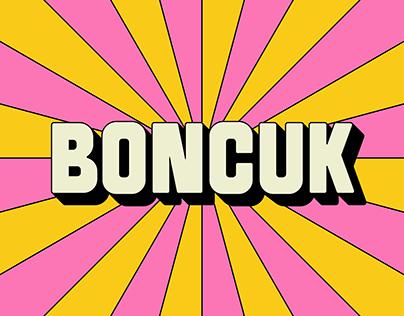 SK Boncuk Typeface