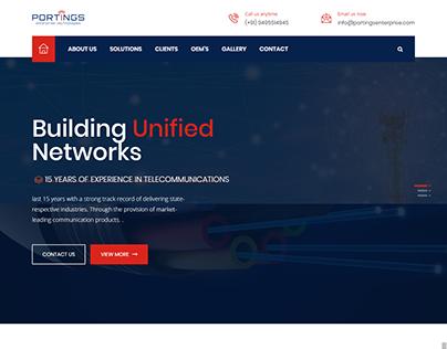 Web Design - Portings Enterprise Technologies