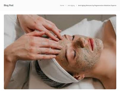 Anti Aging Skincare by Regenerative Medicine Experts