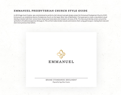 Style Guide for Emmanuel Presbyterian Church