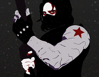Winter Soldier Illustration