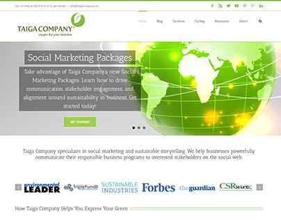 Taiga Company Web Design & Development