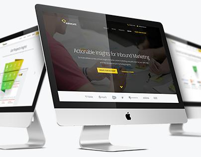 Survicate | landingpage redesign