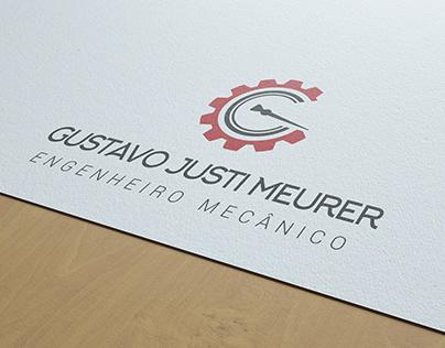 Logo + cartão de visita. Engenheiro Mecânico
