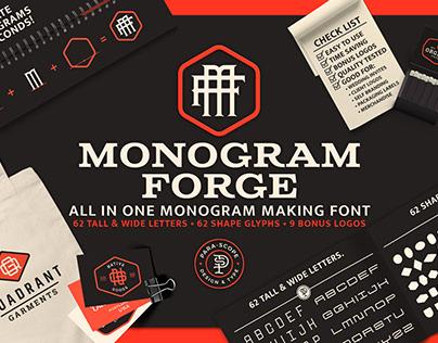 MONOGRAM-FORGE-1 Display Typeface