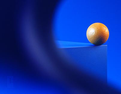Blue Series | Still Life | 3D Render