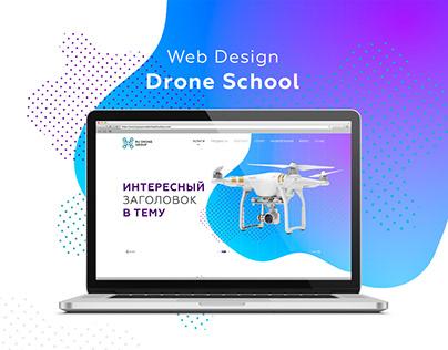 Design of Drone School Website