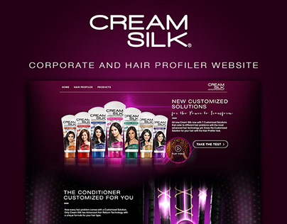 Cream Silk Website