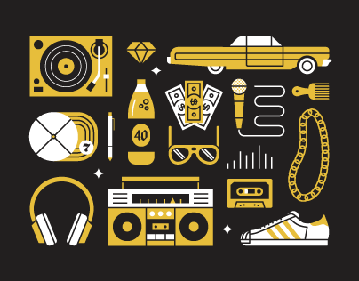 Hip Hop Objects