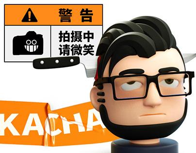 咔嚓 - KACHA - Character Designed For Photographer