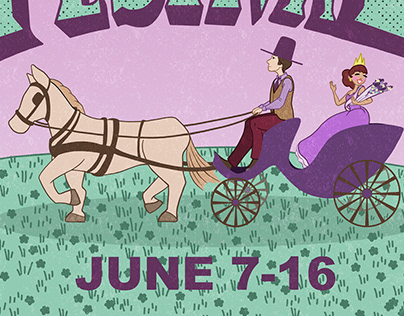 Lilac Festival Poster