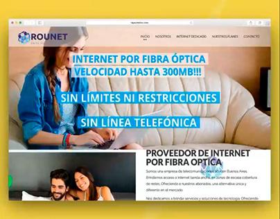 Fibra Óptica Rounet | Diseño Web