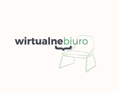 Wirtualne Biuro Logo, Website Design and Branding