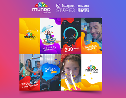 Instagram Stories for Mundo Pacífico