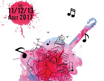 Concours : affiche pour un festival de musique