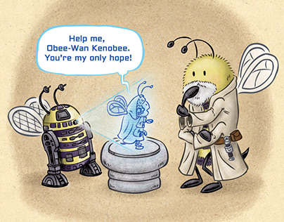 May The Force Bee With You