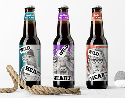 Illustrations and design for hand crafted beer