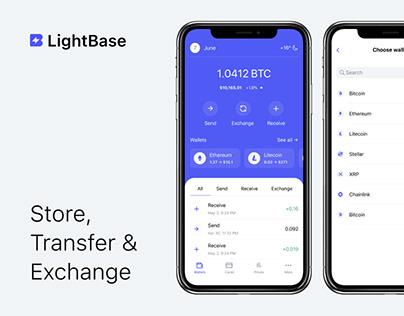 Light Base — Crypto Wallet