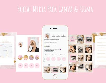 Social Media Pack Instagram