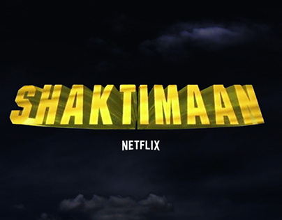 Title Marketing: Shaktimaan on Netflix
