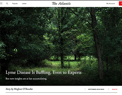 Life with Lyme - The Atlantic (September 2019)