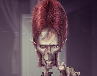 David Bowie - Caricature