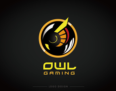 OWL gaming logo design