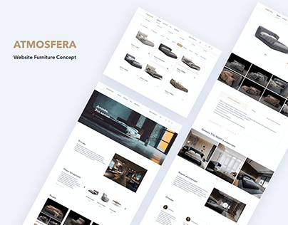 Atmosfera - furniture online shop (my first project)