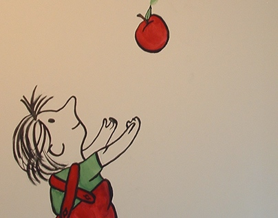 Giving Tree Nursery Mural