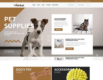 Numbat - Pet Shop WooCommerce WordPress Theme