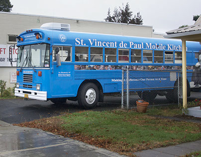 St. Vincent de Paul's Mobile Kitchen