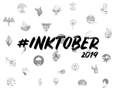 Inktober 2019 - Sketchbook