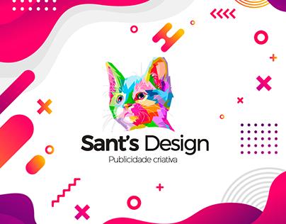 Conceito logo Sant`s Design
