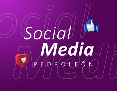 SOCIAL MEDIA - PEDRO LEÓN