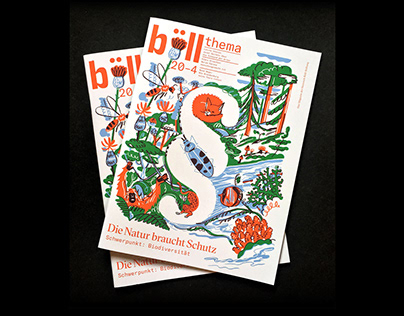 Protect the Nature! – For Böll Magazine