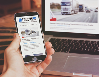 Trucks.com | Web Design + Brand Exploration