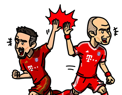 duo 'Robbery' Ribery & Robben