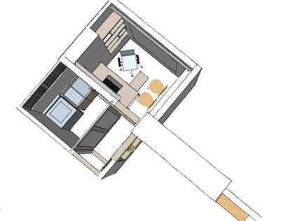 Oficina en Apartamento - L. Parra