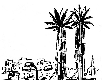 Израиль 2017-18 (sketches)