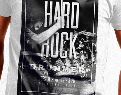 DRUMMER - T-SHIRT