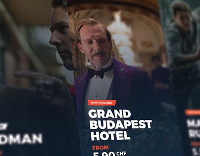 SwissTV - American Entertainment, swiss design