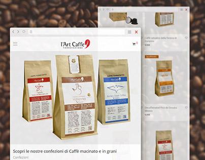 Art Caffè Torrefazione, Shop online